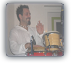 photo of the curriculum vitae of the musical percussionist luca mattioni